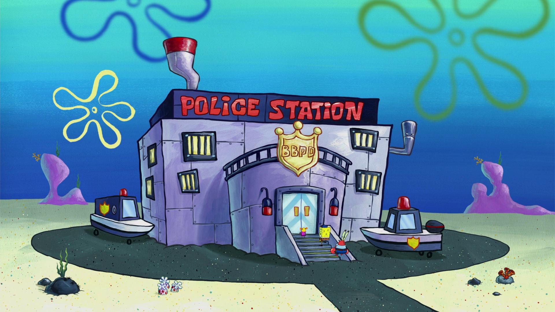 Bikini bottom police department