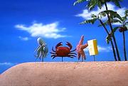 Real Squidward Mr. Krabs Patrick and SpongeBob