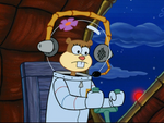 Sandy in SpongeBob SquarePants vs. The Big One-38