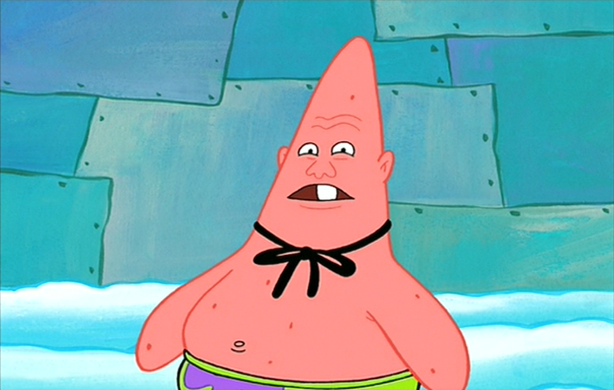 Patrick Who You Callin Pinhead