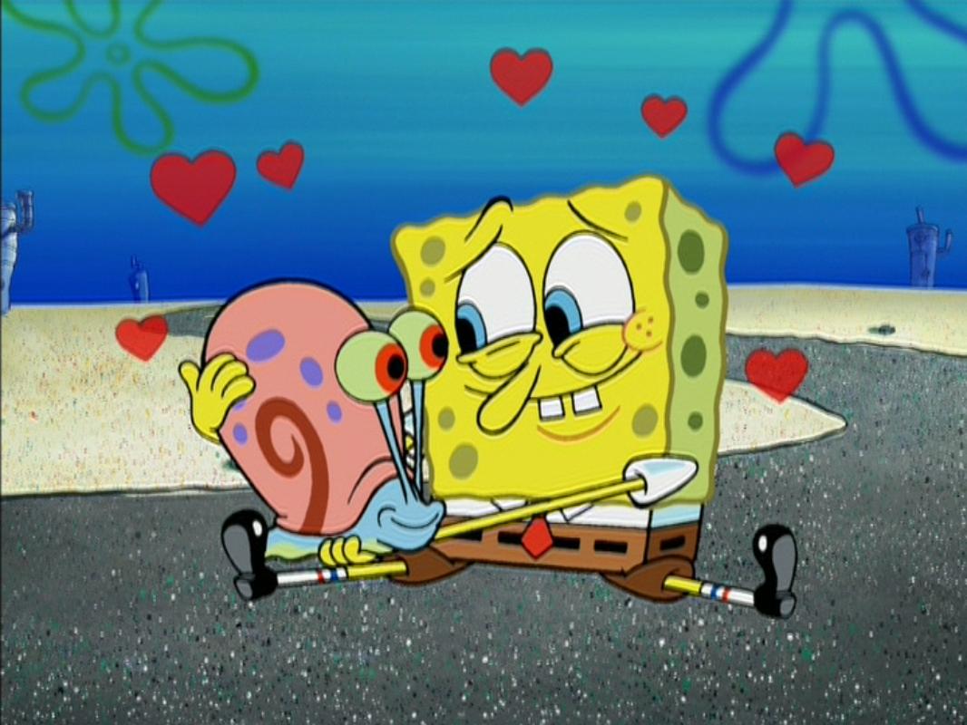 SpongeBob Gary relationship Encyclopedia SpongeBobia FANDOM