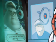 Quality discrepancy between the wall•e movie and comic