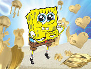 Spongebob-heart-of-gold-mosaic-squarepants-nickelodeon-international-nick-sbsp 2