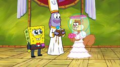 Spongebob maried