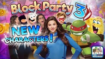 Block Party 3 - New Minigames on the New Boards (Nickelodeon Games)