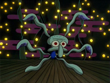 Dancing Squidward!