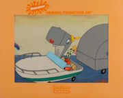 SpongeBob SquarePants Pearl Krabs Production Image Animation Cel Scene Nickelodeon