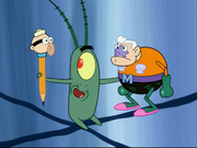 Playing With Barnacle Boy