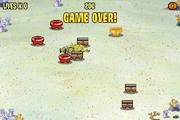 RoundPants Runaround - Game over