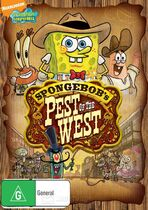 SpongeBob's Pest of the West Australian DVD
