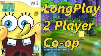 SpongeBob's Truth or Square - Longplay Co-op 2 Players Full Game Walkthrough (Wii, Xbox 360, PSP)