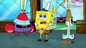 SpongeBob Music Oh Krusty Krab (INSTRUMENTAL)