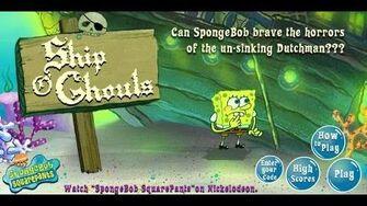 SpongeBob SquarePants Ship O Ghouls Games For Kids - Gry Dla Dzieci