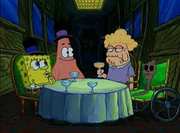 File:SpongeBob and Patrick with Mary and her mother.jpg