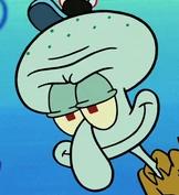 Squidward in Broken Alarm