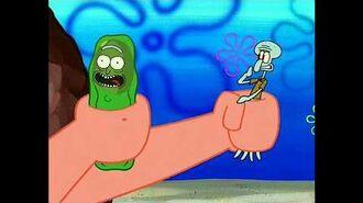 Squidward x Pickle Rick