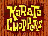 Karate Choppers title card