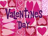 Valentine's Day title card