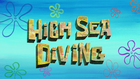 High Sea Diving