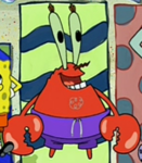 Mr. Krabs Wearing a Swim Suit2
