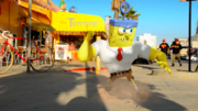 Sponge Out of Water animation test 002