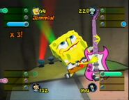3D Spongebob & 1 Guitar (Lights, Camera, Pants)2