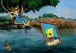 SpongeBob in Gone Fishin'