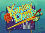 Krabby Land title card