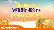Las mejores 10 versiones de Cangreburgers - Bob Esponja - Mundonick Latinoamérica