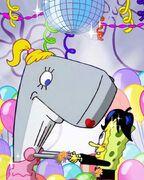 Nickelodeon prom post - Pearl and SpongeBob
