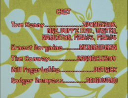 SpongeBob SquarePants Doing Time Credits