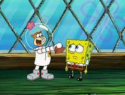 Sandy, SpongeBob, and the Worm 068
