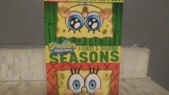 SpongeBob SquarePants The First & Second Seasons DVD Unboxing