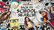 Back to school search title screen