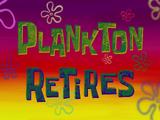 Планктон на пенсии
