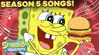 Season 5 SpongeBob Songs Compilation! 🎤 ft