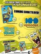 Spongebob 10Years TradeAd