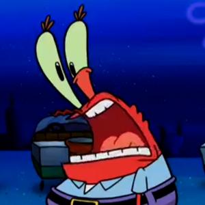 Surprised mr krabs pic