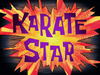 Karate Star title card