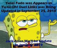 5D's in Duel Links Spongebob Meme