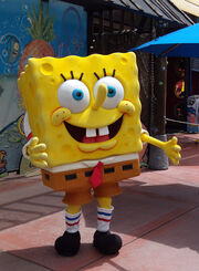 Spongebob squarepants at Universal Studios
