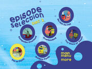 Disc 2 episode selection menu 1-0