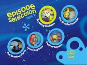Disc 2 episode selection menu 2