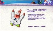 Whichpatrickareyou - mad scientist patrick