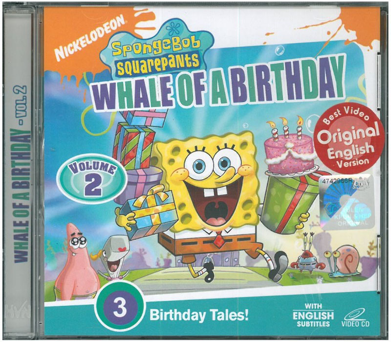 Whale Of A Birthday DVD