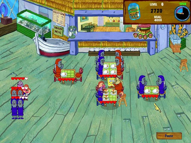 Spongebob squarepants diner dash 2 free download full version.