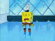 Thawed Spongebob