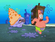 Whelk Chasing Patrick.