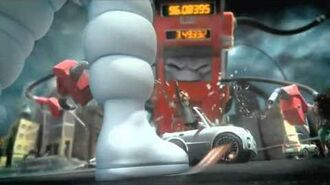 Extended Version Michelin Man Tire Advert Evil Gas Pump The Right Tyre Changes Everything
