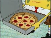 Krabby Patty Pizza
